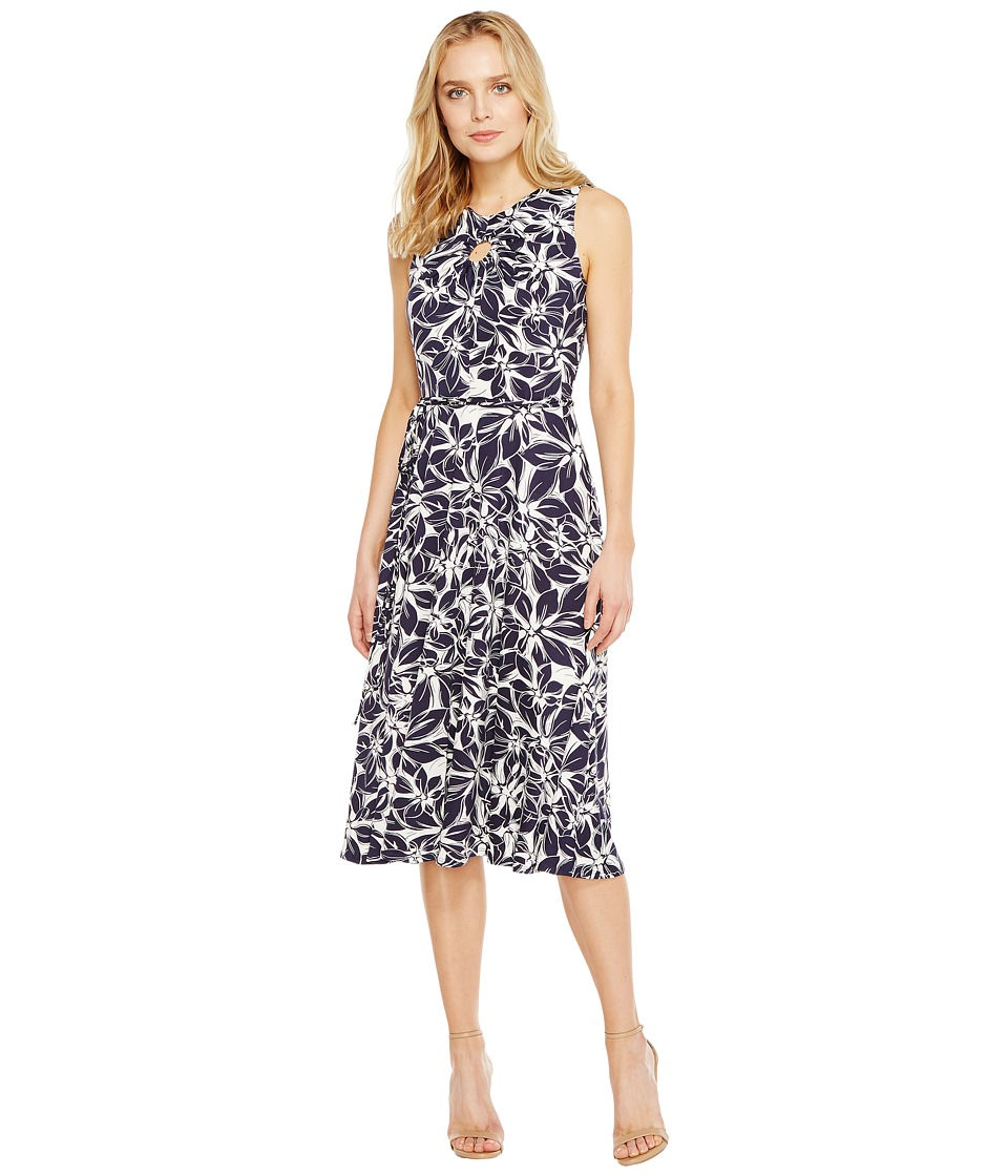 Christin Michaels - Viola Sleeveless Fit and Flare Dress