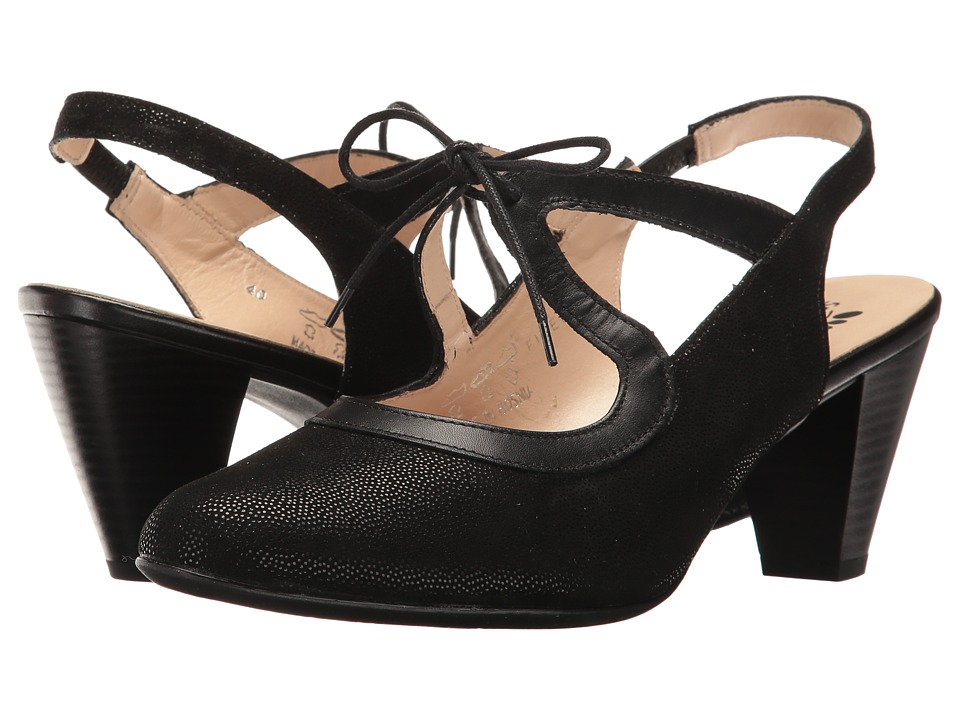 Spring Step Finesse (Black) Women's Shoes