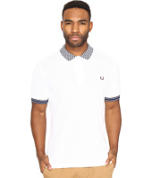 Fred Perry - Chequerboard Collar Pique Shirt