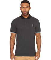 Fred Perry - Chequerboard Print Pique Shirt