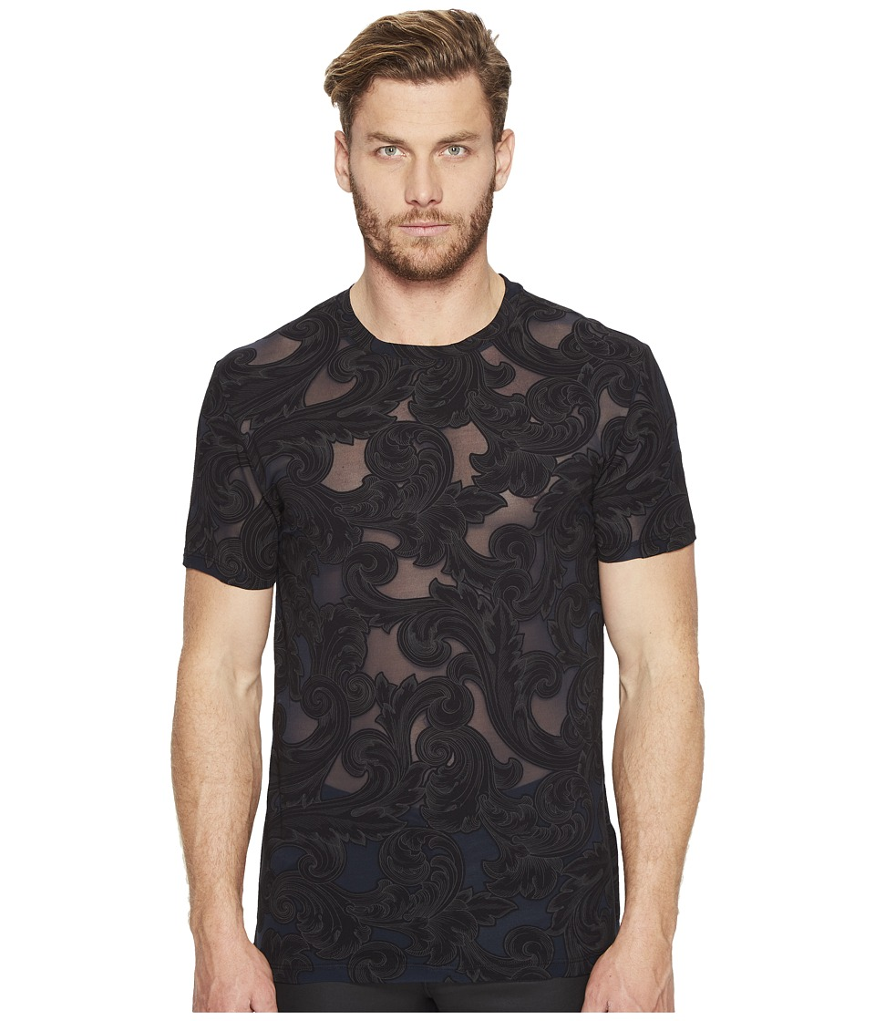 Versace Collection - Printed T-Shirt (Nero/Stampa) Men's ...