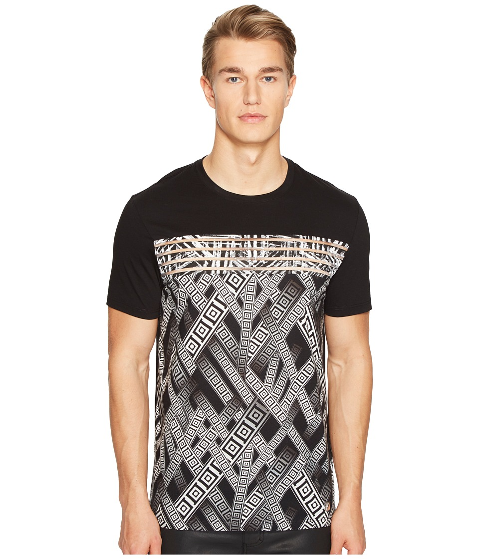 Versace Collection Printed T-Shirt (Nero/Stampa) Men