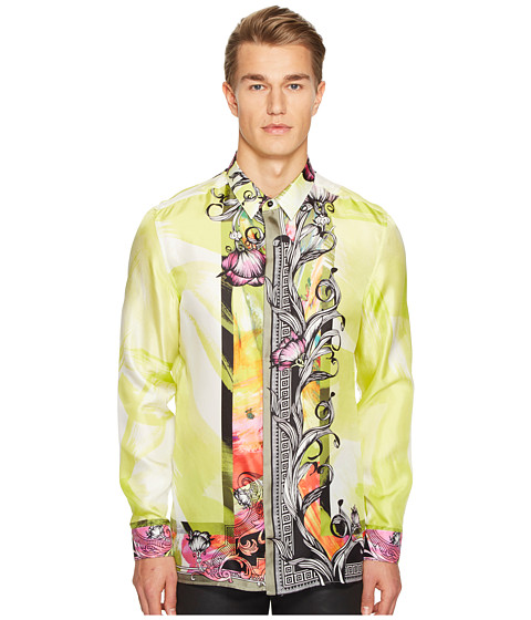 Versace Collection Long Sleeve Button Down