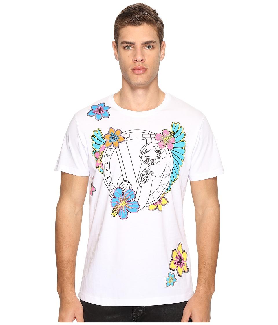 Versace Jeans T-Shirt EB3GPB770 (Bianco) Men