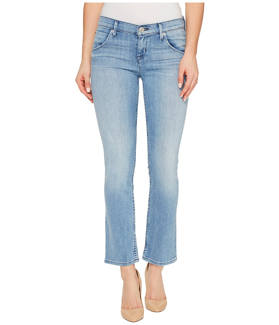 Hudson - Bailee Mid-Rise Crop Baby Boot Flap Pocket Jeans in Tidal