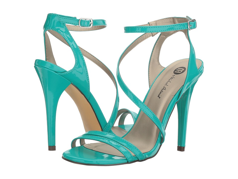 Michael Antonio Ester Patent (Turquoise Patent) High Heels