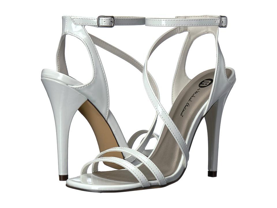 Michael Antonio Ester Patent (White Patent) High Heels