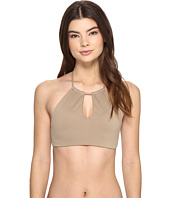 Polo Ralph Lauren - Safari Solids High Neck Keyhole Bra