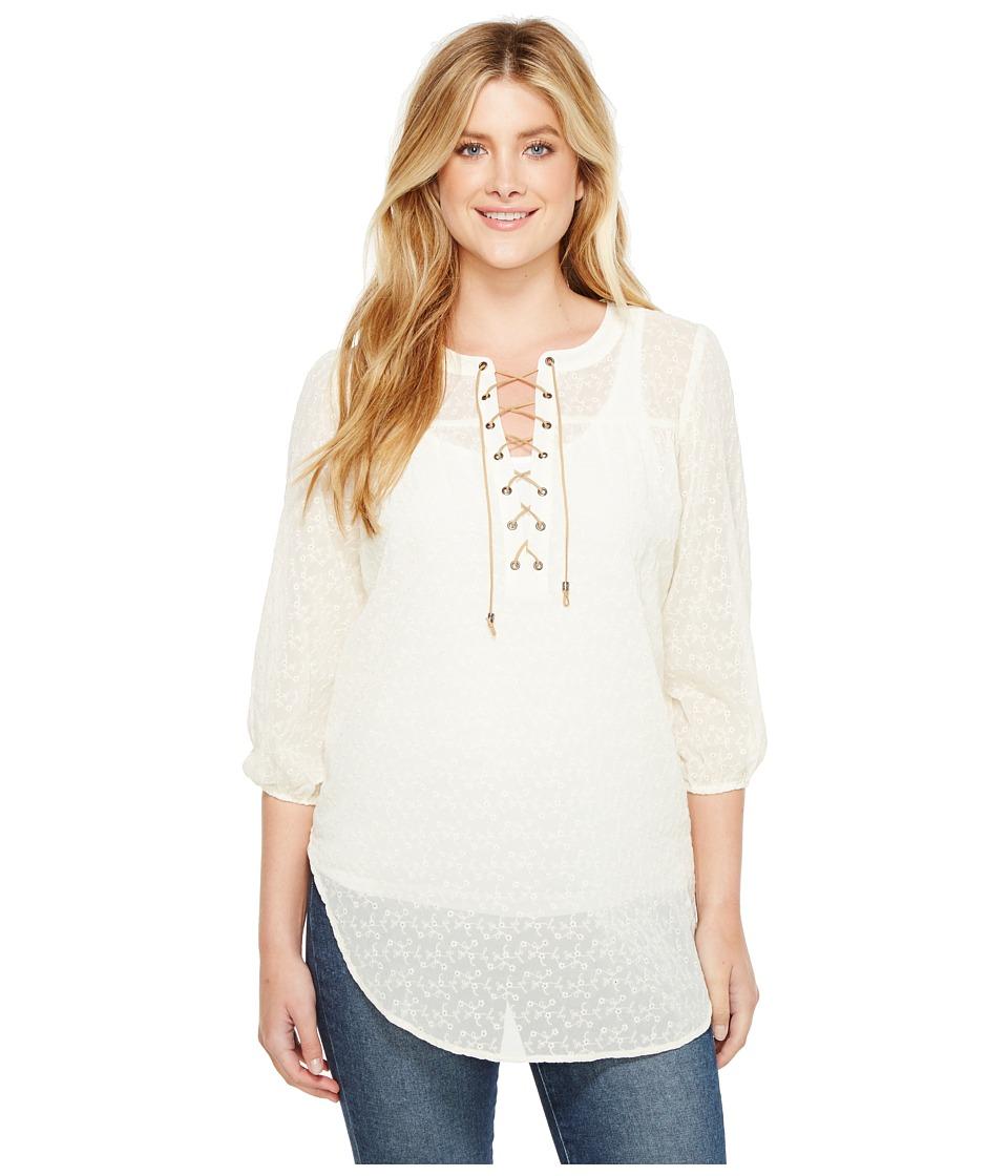 Tasha Polizzi - Willamette Top (White) Womens Clothing