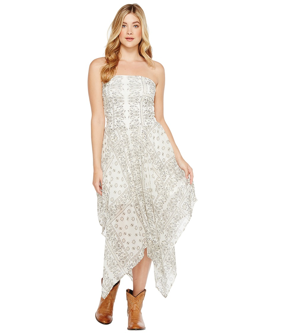 Tasha Polizzi - Bandeau Dress (Cream) Womens Dress