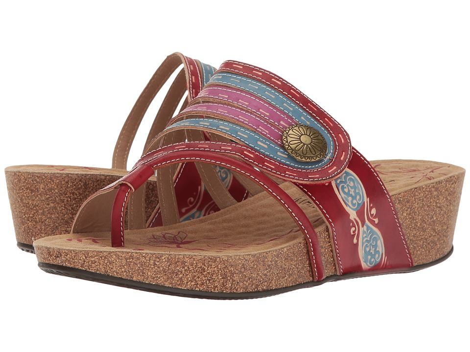 Spring Step Claudia (Red) Women