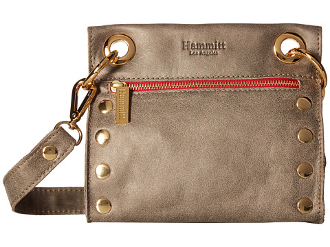 Hammitt Tony - Pewter/Gold/Red Zipper