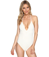 Polo Ralph Lauren - Sahara Engineered Crochet Plunge X-Back One-Piece