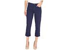 NYDJ - Dayla Wide Cuff Capri Jeans in Republique Navy