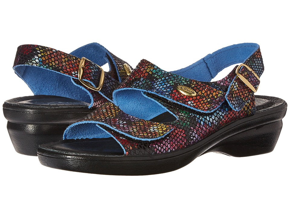 Spring Step Delice (Black Multi) Women's Shoes