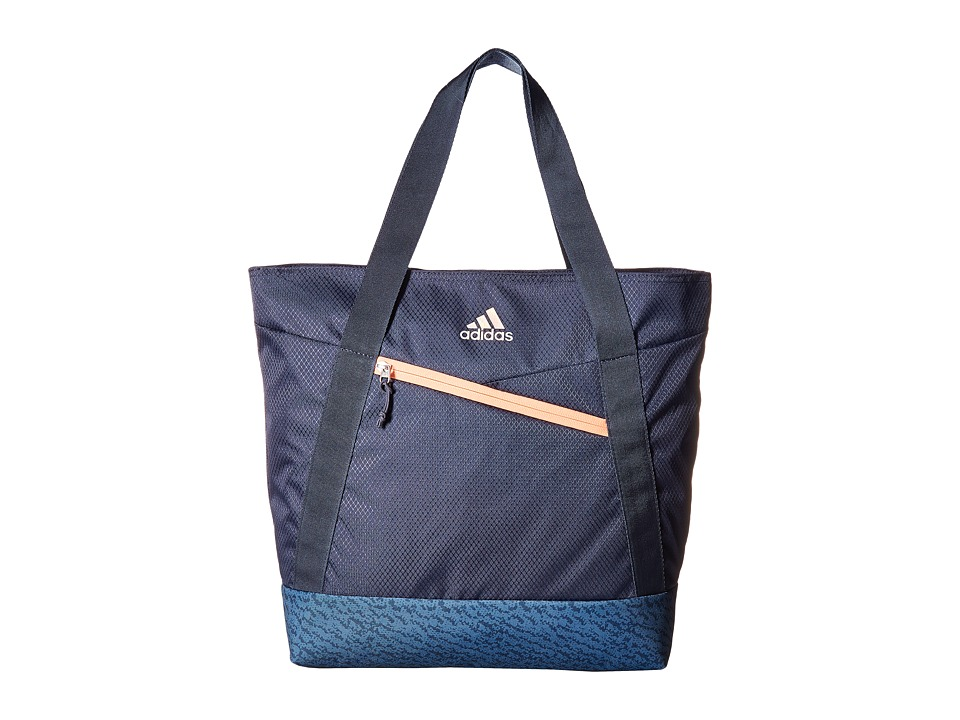 adidas - Squad III Tote (Trace Blue/Trace Blue Compass/Sun Glow) Tote Handbags
