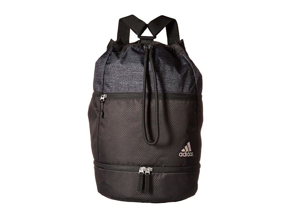 adidas Squad Bucket Backpack (Black/Black Jersey) Backpack Bags