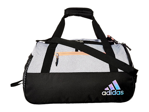 adidas Squad III Duffel - White Grip/Black/Lucid Red