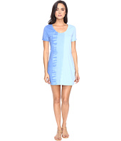 Michael Stars - Riverwash Short Sleeve Dress with Back Twist