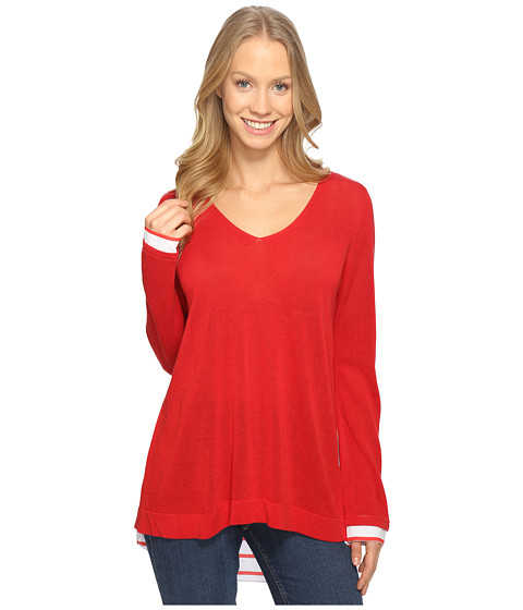 NYDJ Twofer Sweater - Red Ribbon