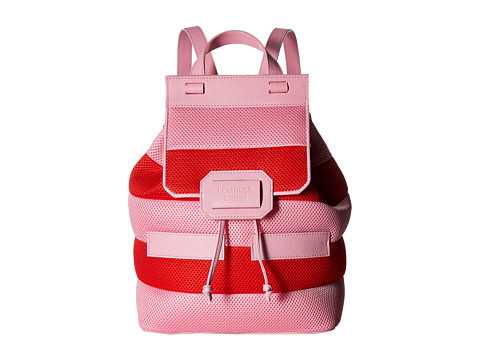 Boutique Moschino Mesh Backpack - Red/Pink