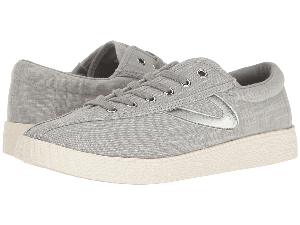 Tretorn Nylite Plus (Grey/Grey/Silver) Women