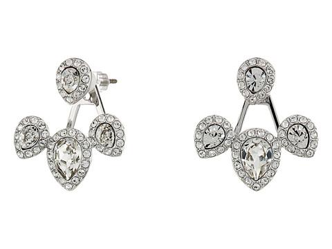 Swarovski Christie Pierced Earrings Jacket - Crystal Clear