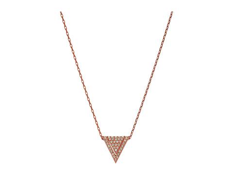 Swarovski Delta Pendant Necklace - Crystal Clear