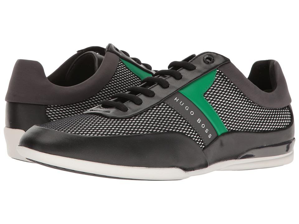 BOSS Hugo Boss Space Lace-Up Sneaker by BOSS Green (Open Black) Men