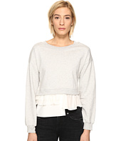 Boutique Moschino - Sweatshirt w/ Bottom Ruffle