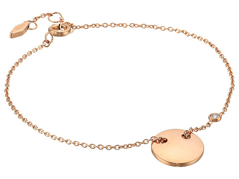 Fossil Engravable Bracelet - Rose Gold