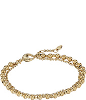 Fossil - Gold-Tone Steel and Brass Double-Chain Bracelet