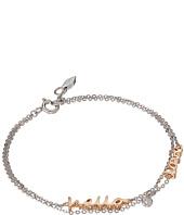 Fossil - Sterling Silver Hello Love Bracelet