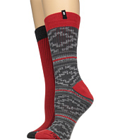 Sanuk - The Twofer Crew Socks 2-Pack