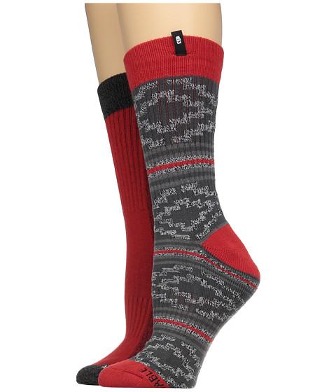 Sanuk The Twofer Crew Socks 2-Pack