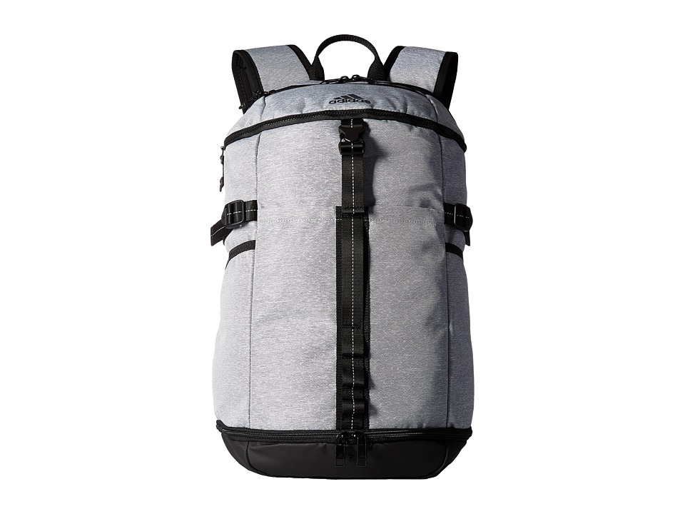 adidas - Show Backpack (Heather Grey) Backpack Bags