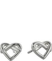 Fossil - Sterling Silver Heart Studs Earrings