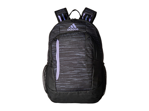 adidas Mission Plus Backpack - Looper Black/Light Flash Purple