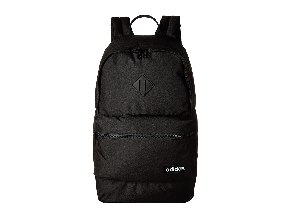 adidas Classic 3S Backpack (Black/Black) Backpack Bags