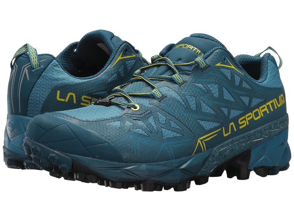 La Sportiva - Akyra GTX (Ocean/Sulphur) Mens Shoes