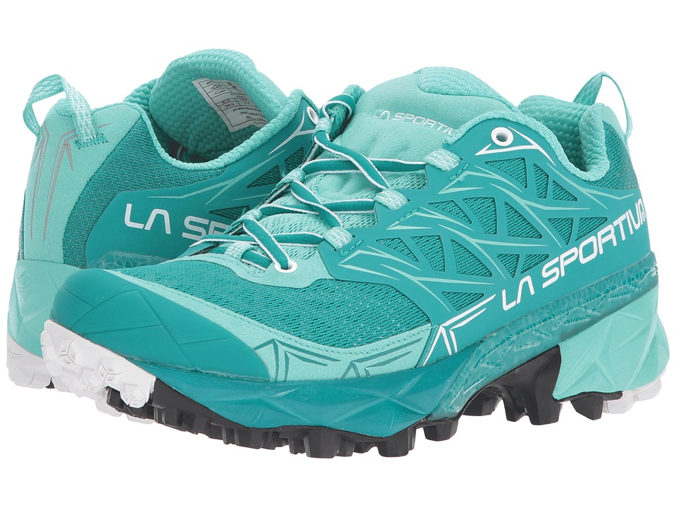La Sportiva - Akyra (Emerald/Mint) Womens Shoes