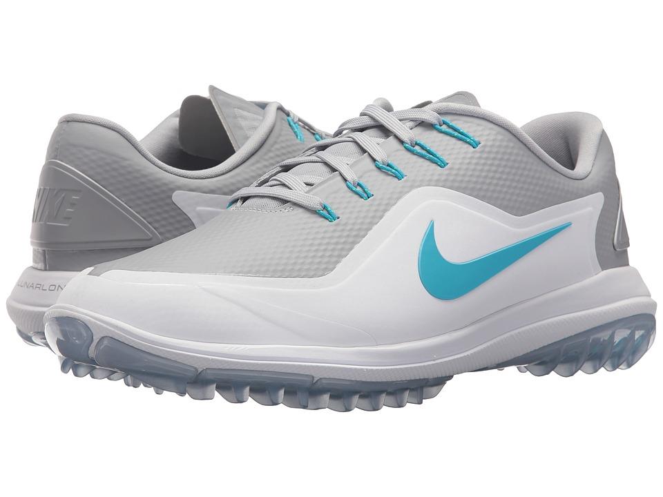 Nike Golf - Lunar Control Vapor 2 (Wolf Grey/Blue Fury/Wh...