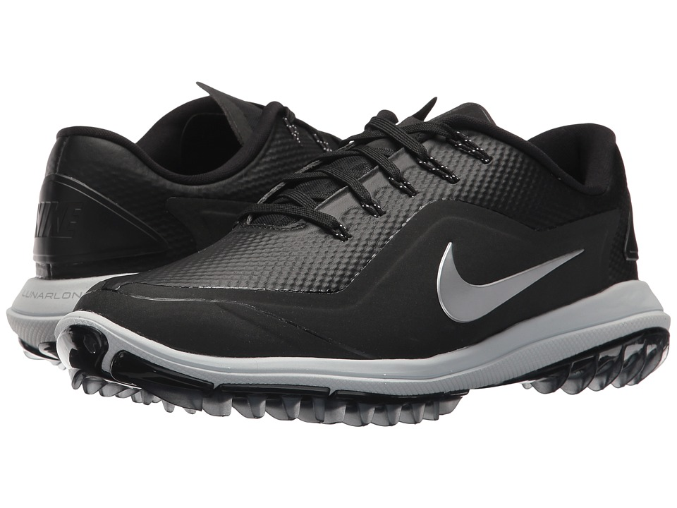 Nike Golf Lunar Control Vapor 2 (Black/Metallic Silver/Pure Platinum) Women's Golf Shoes