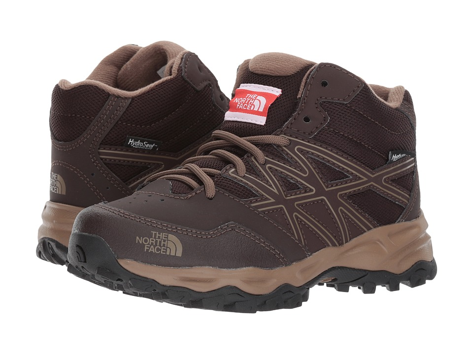 The North Face Kids Hedgehog Hiker Mid WP (Little Kid/Big Kid) (Brunette Brown/Sepia Brown) Boy's Shoes