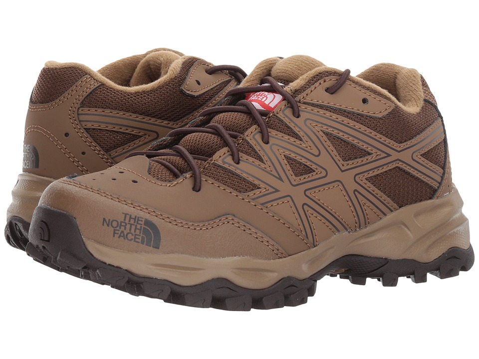 The North Face Kids Hedgehog Hiker (Little Kid/Big Kid) (Sepia Brown/Brunette Brown) Boys Shoes