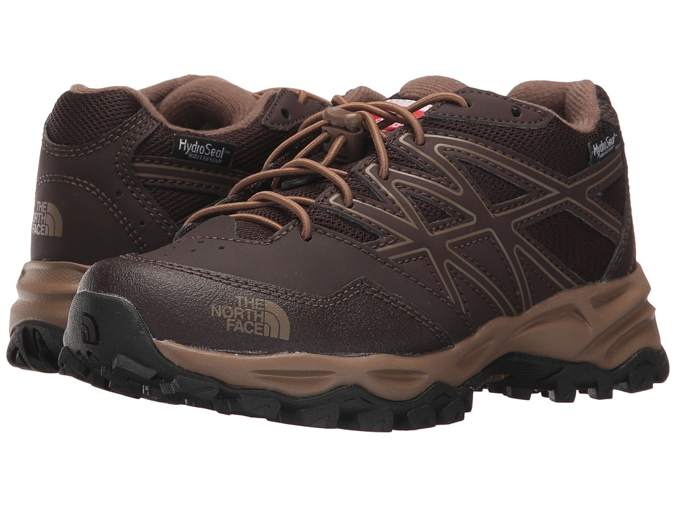 The North Face Kids Jr Hedgehog Hiker WP (Little Kid/Big Kid) (Brunette Brown/Sepia Brown) Boys Shoes