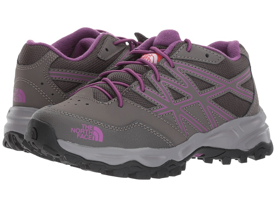 The North Face Kids Hedgehog Hiker (Little Kid/Big Kid) (Dark Gull Grey/Wood Violet) Girls Shoes