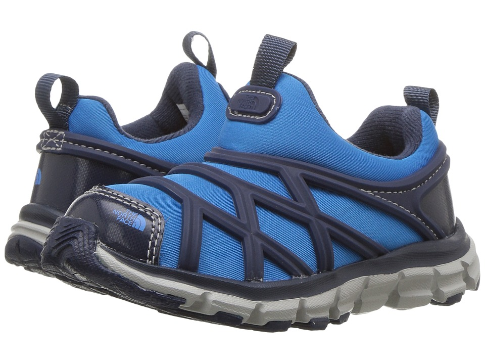 The North Face Kids Litewave Slip-On WR (Toddler/Little Kid) (Cosmic Blue/Blue Aster) Boy's Shoes