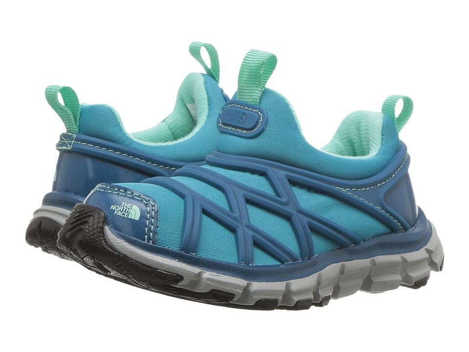 The North Face Kids Litewave Slip-On WR (Toddler/Little Kid) (Egyptian Blue/Algiers Blue) Girl's Shoes