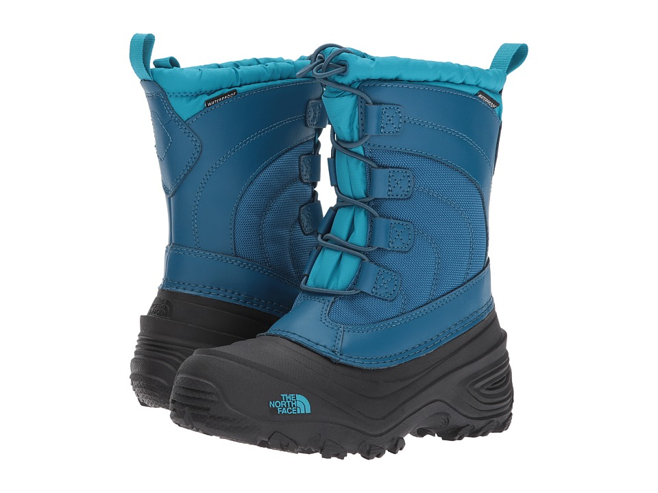 The North Face Kids Alpenglow IV (Toddler/Little Kid/Big Kid) (Egyptian Blue/Blizzard Blue) Boys Shoes